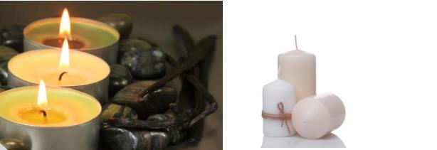 Vanilla Flavored Candles